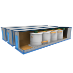 Автономная канализация KOLO ILMA 300 наземное исполнение