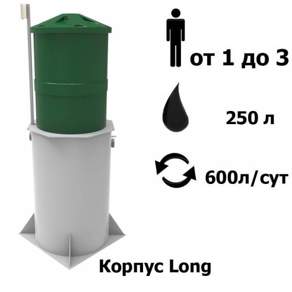 Автономная канализация KOLO VESI 3 Long Prin