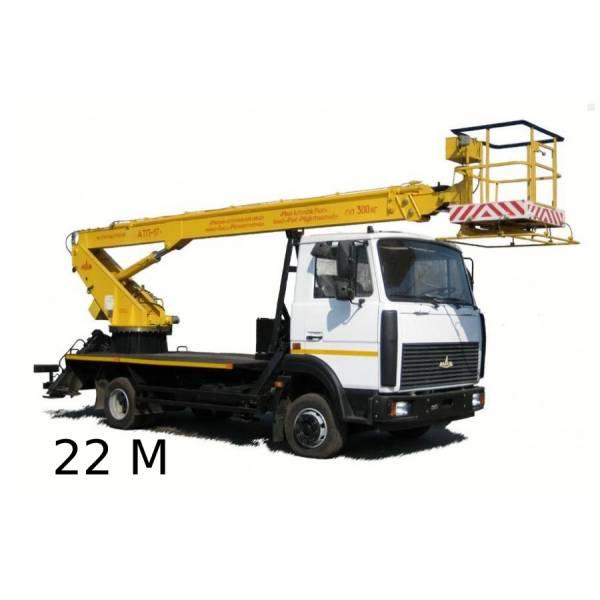 Аренда автовышки 22 метра