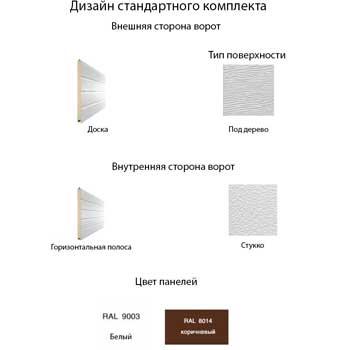 Дизайн стандартного комплекта изображение